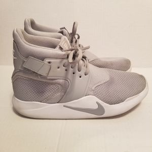Nike Incursion 9.5 Hi Top Basketball Shoes Gray